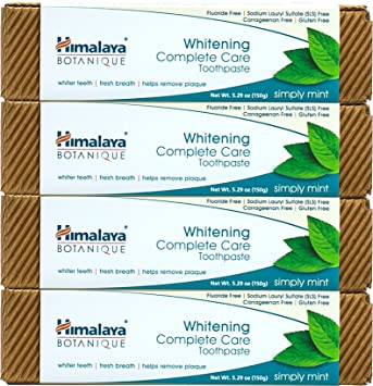 Review Himalaya Whitening Toothpaste -
