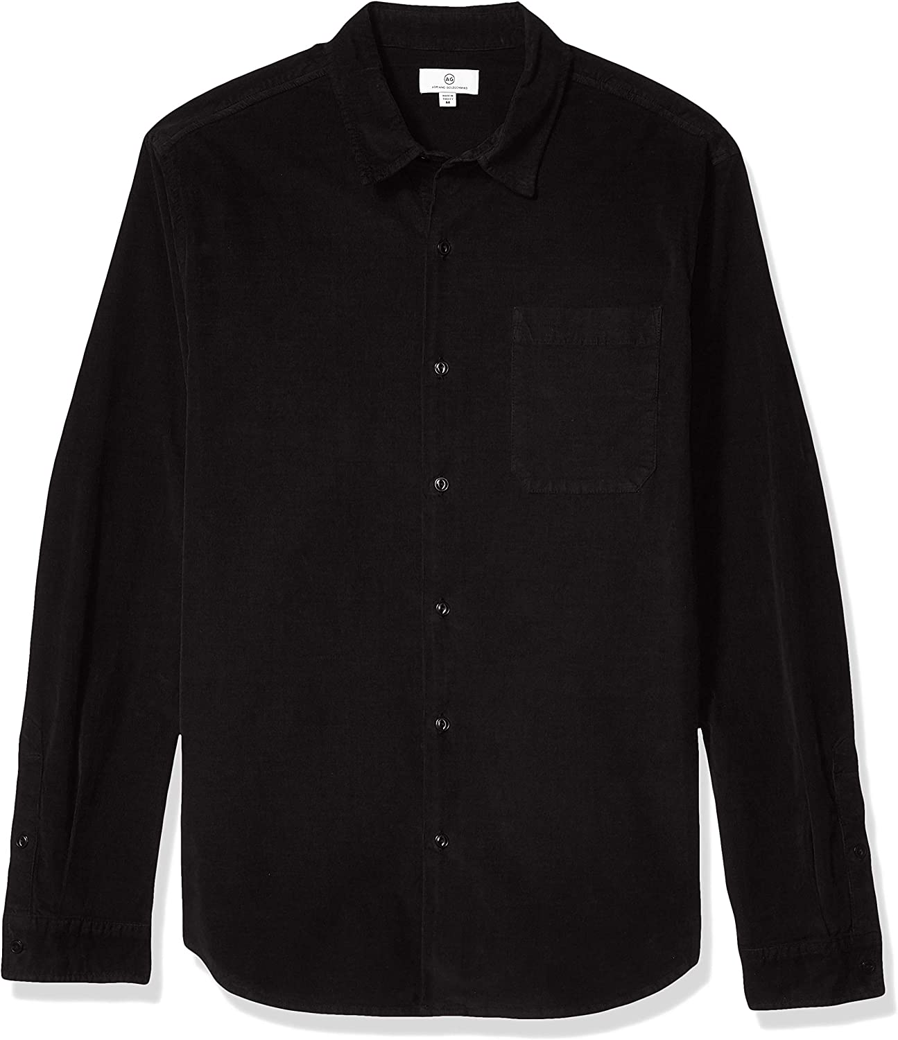 Image of AG Adriano Goldschmied Men's Benning Single Pocket Shirt Casual Button-Down Shirts