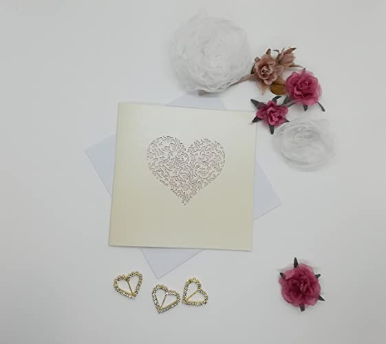 Amazon.com: Romantic Wedding Invitation, Wedding invite, invitation ...