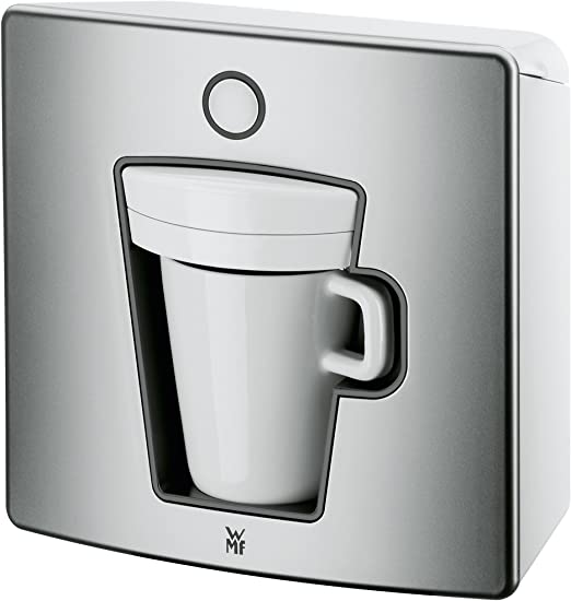 WMF 1 - Cafetera de monodosis, color plateado: Amazon.es: Hogar