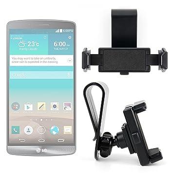 DURAGADGET Montura/Soporte de Parasol de Coche para Smartphones LG ...