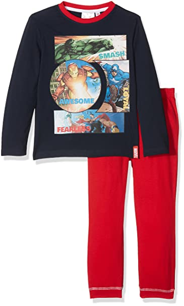Marvel Avengers Smash Loyal Awesome Fearless, Conjuntos de Pijama para Niños: Amazon.es: Ropa y accesorios