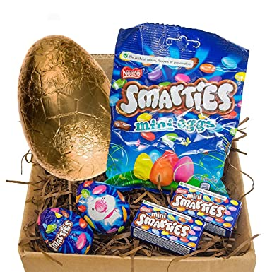 Smarties easter egg gift set with goldern easter egg perfect little smarties easter egg gift set with goldern easter egg perfect little gift this easter negle Images