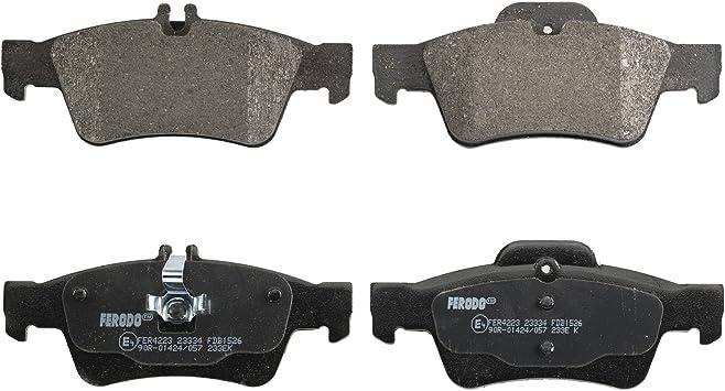 set of 4 disc brake Ferodo FDB1526 Brake Pad Set