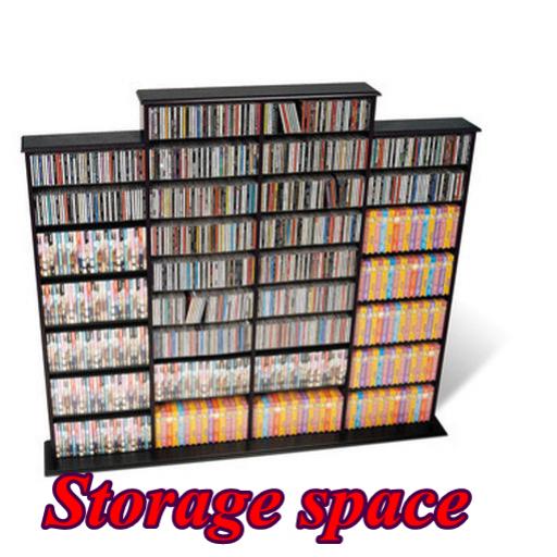 storage space (Extra Storage Space)