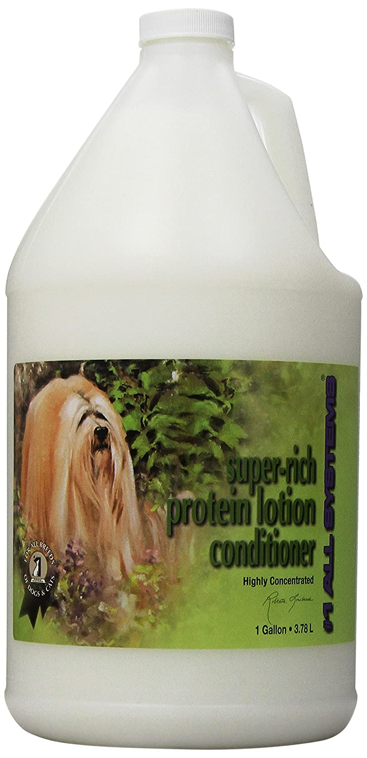 #1 All Systems Super-Rich Protein Lotion Pet Conditioner, 1-Gallon PetEdge Dealer Services AL85416