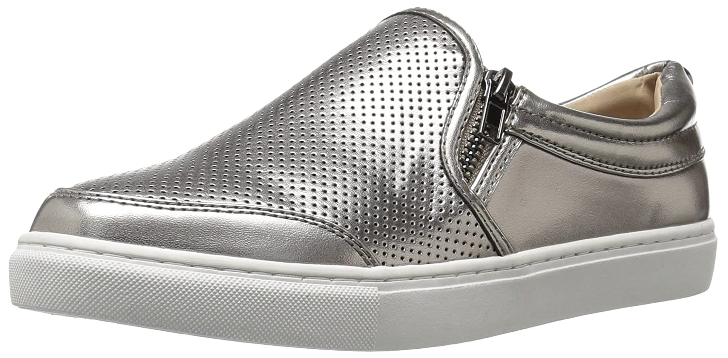 f54e7fc7f0c Steve Madden Women's Ellias Fashion Sneaker, Pewter, 11 M US: Amazon ...