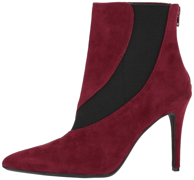 Nine West Women's Fran9x Suede Mid Calf Boot Suede B071F4N1PN 10 B(M) US|Wine/Black Suede Boot d6e57e