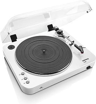 Amazon.com: Lenco l-85 Turntable con grabación USB directo ...