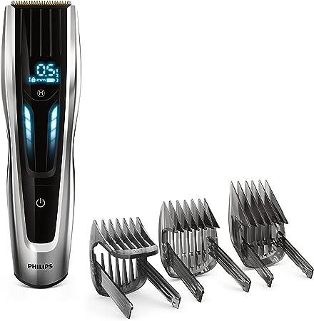 Philips HAIRCLIPPER Series 9000 HC9450/13 cortadora de pelo y maquinilla Negro Recargable - Afeitadora (Negro, 0,5 mm, 4,2 cm, 4,1 cm, Titanio, Auto Turbo): Amazon.es: Hogar