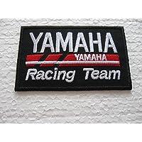 Patch–Yamaha Racing Team–Negro–Biker Motocross–Moto–Motor Bike–Motor Sport–Motorcycles–Racing Team–Biker–Parches–Parche Emblemas