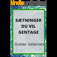 Sætninger du vil gentage (Danish Edition)