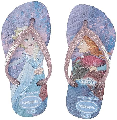 0b6adbf65792dc Havaianas Kids Slim Frozen Thong Sandal (Toddler Little Kid)  Amazon.ca   Shoes   Handbags