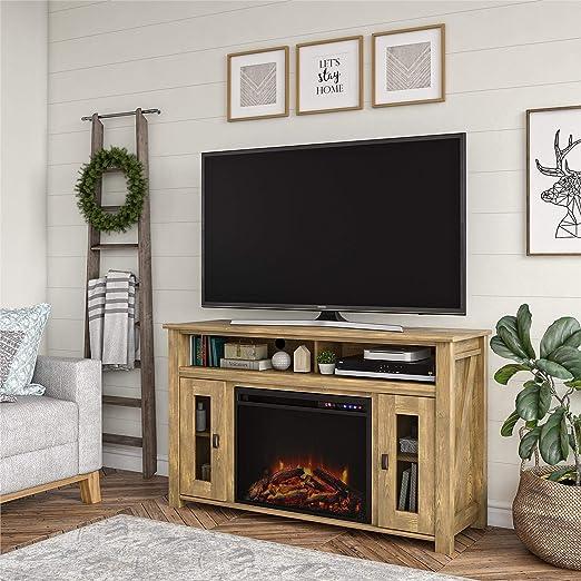 Realrooms Brocketts - Soporte de TV para chimenea de 48 a 60 ...