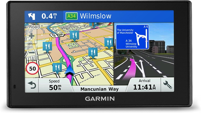Garmin Drivesmart 50lmt D Satellit Navigationssystem Mit Kartenupdates Und Digital Verkehrsanzeige Europa Navigation