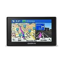 Garmin DriveSmart 50LM 5 inch Sat-Nav for Cars Satellite Navigation System with Full Europe (including UK) Lifetime Map Updates and Smartphone Link Traffic