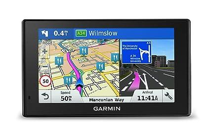 Garmin DriveSmart 50 EU LM - Navegador GPS con mapas de por Vida (Pantalla de
