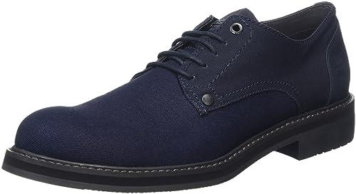 8f59581d91 G-Star RAW Warth Denim, Zapatos de Cordones Derby para Hombre, Azul (Dk  Navy), 45 EU: Amazon.es: Zapatos y complementos