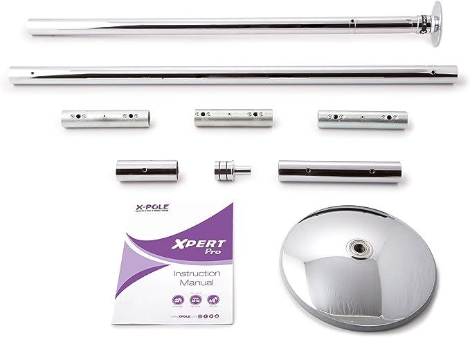 X-POLE Xpert Pro Danza Barra 40 mm o 45 mm Cromo con X Lock ...
