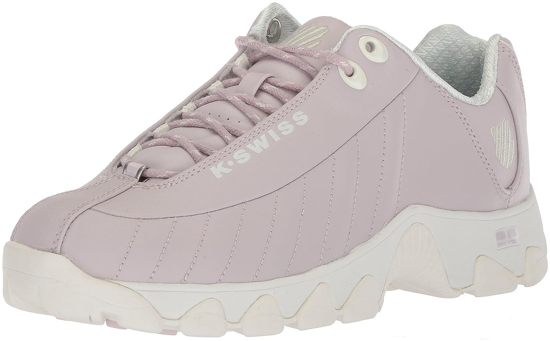 K-Swiss Women's St329 CMF Sneaker B073WRCQKD 11 B(M) US|Gray Lilac/Marshmallow