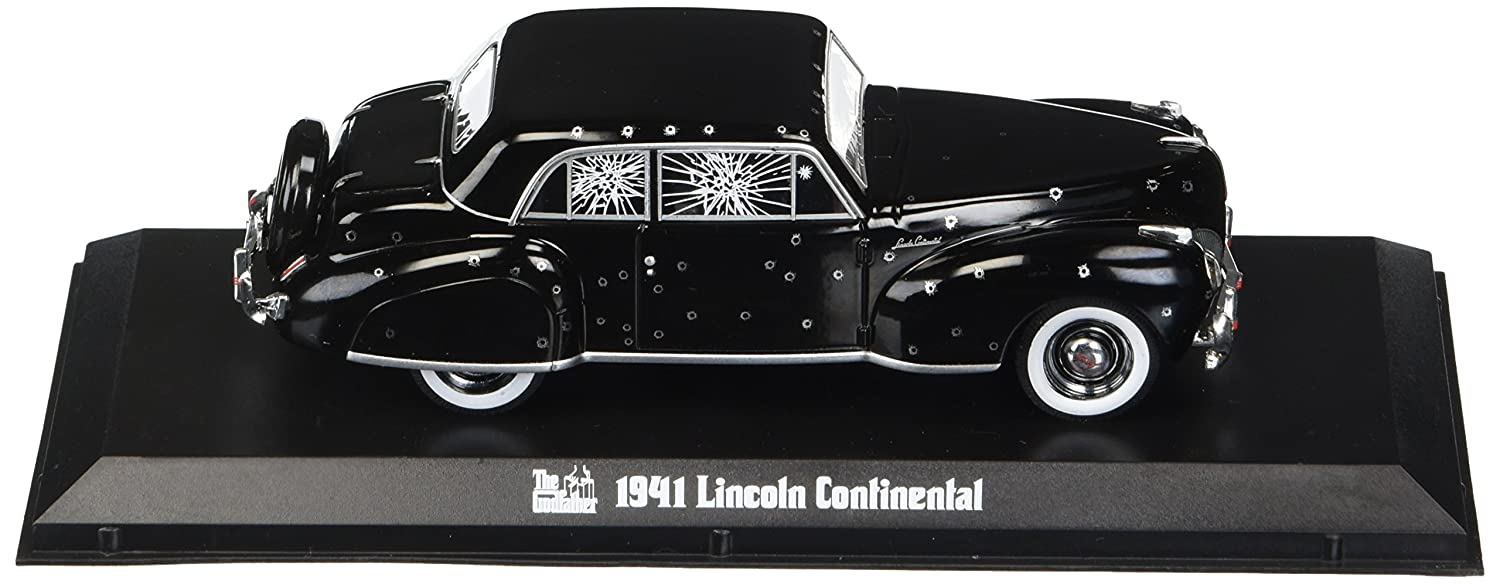 Greenlight 1 43 Hollywood The Godfather 1972 1941 Lincoln Continental with Bullet Hole Damage