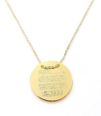 Halskette gold mit namen