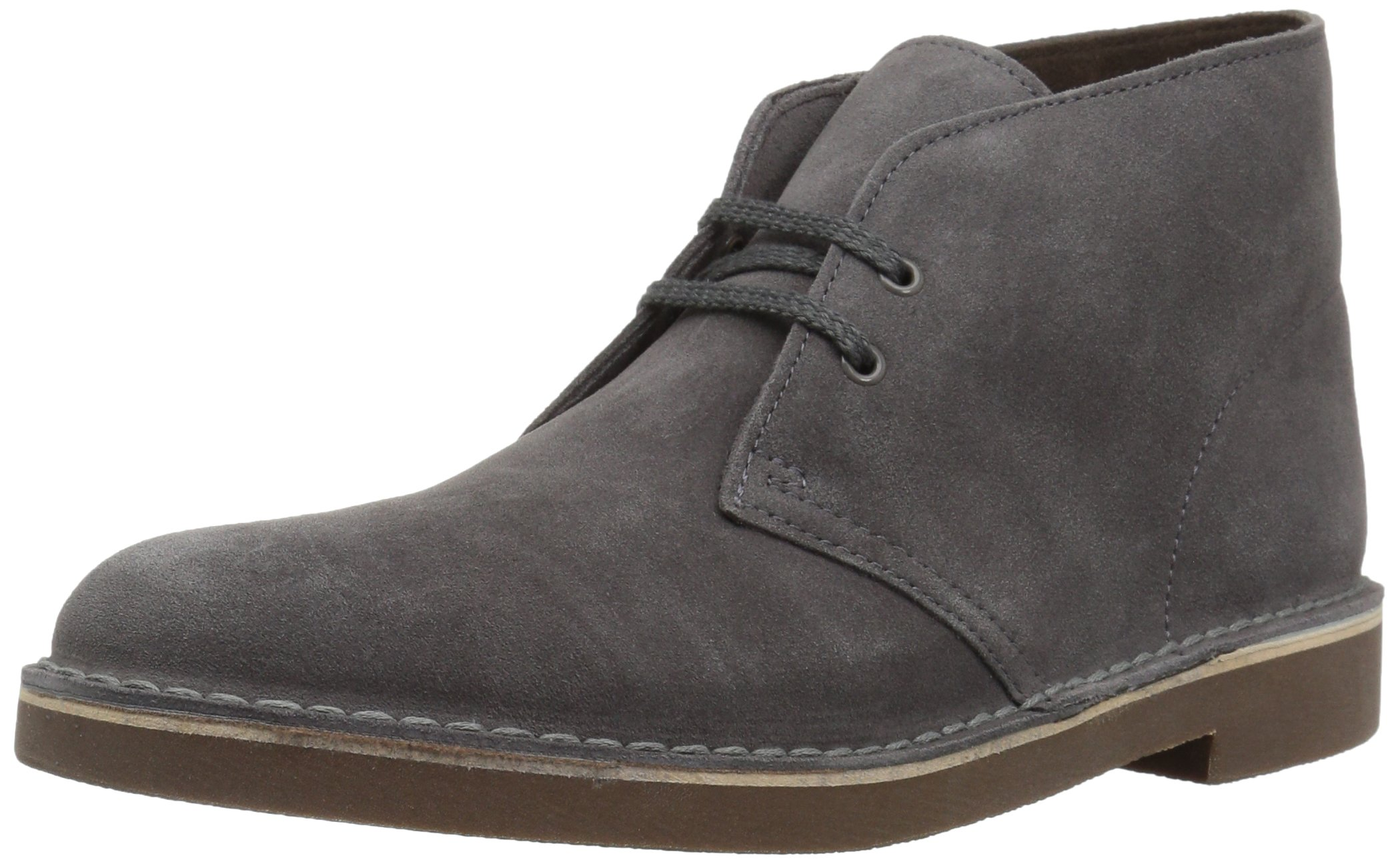 CLARKS Men's Bushacre 2 Boot, Greystone Suede, 13 Medium US by CLARKS