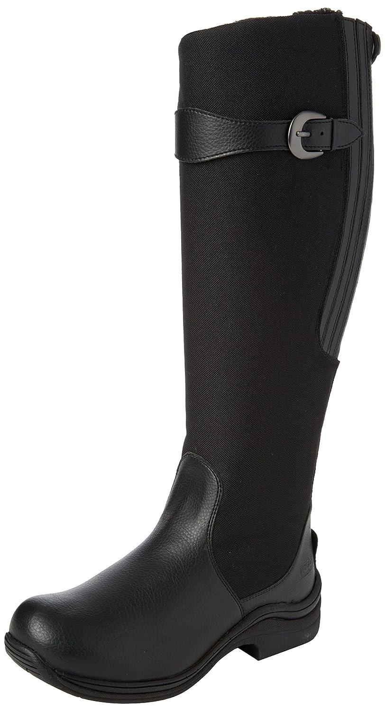 Toggi Chinook d'hiver Bottes d'équitation longues imperméable doublure en polaire Noir, noir, Euro 42