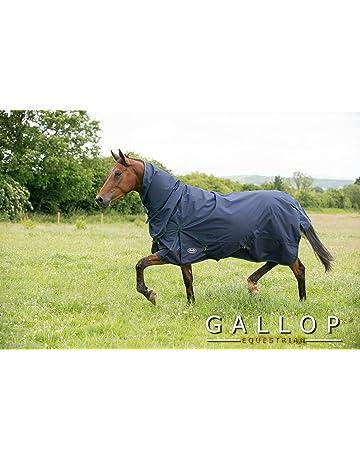 Gallop Trojan 100g Chemise de pluie avec col full EU 125cm