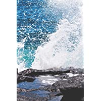 Password Book: Internet Password Logbook Large Print with Tabs | water with waves Cover