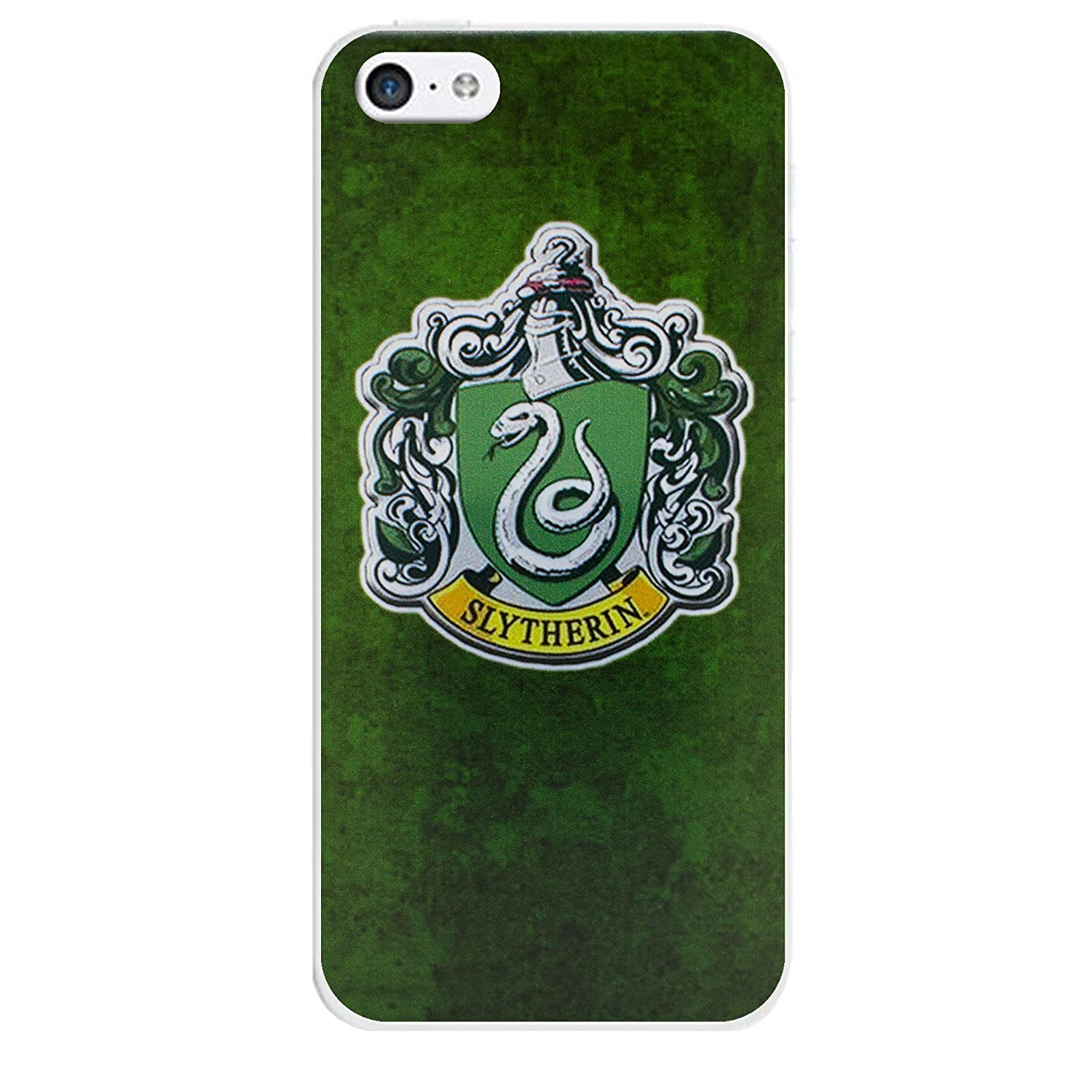 EJC Avenue iPhone Silicona Harry Potter Casas Casos, Slytherin, iPhone 5C