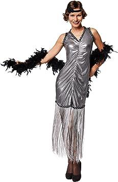 TecTake dressforfun Disfraz para Mujer de Broadway | Vestido Que ...
