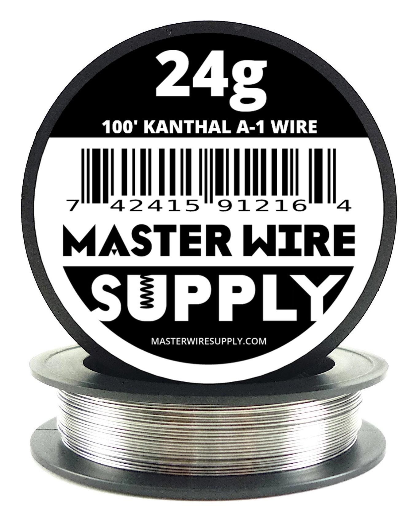 Kanthal A1-100' - 24 Gauge Resistance Wire