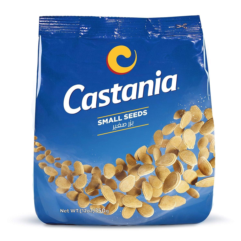 Castania Lebanese Seeds, Small Egyptian Seeds Melon, Snack Mix, Salted Seeds, No Added Sugars 12.4oz Bag