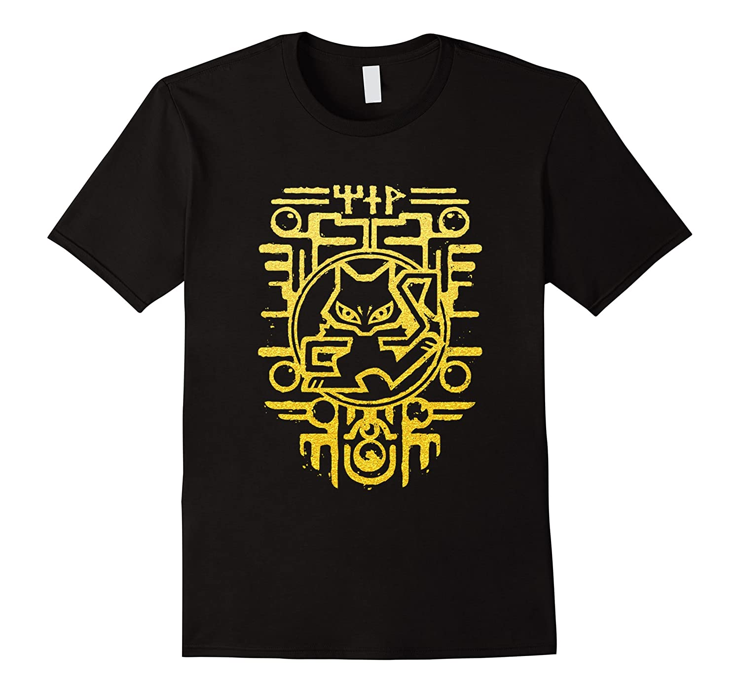 Worlds Rarest Ancient Mew Gold Color T-Shirt-TD