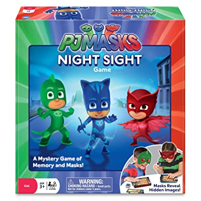 Wonder Forge The PJ Masks Night Sight Game: Toys & Games