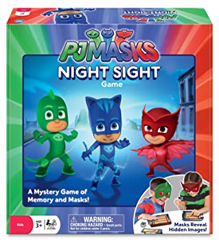 PJ Masks Night Memory Game by Wonder Forge