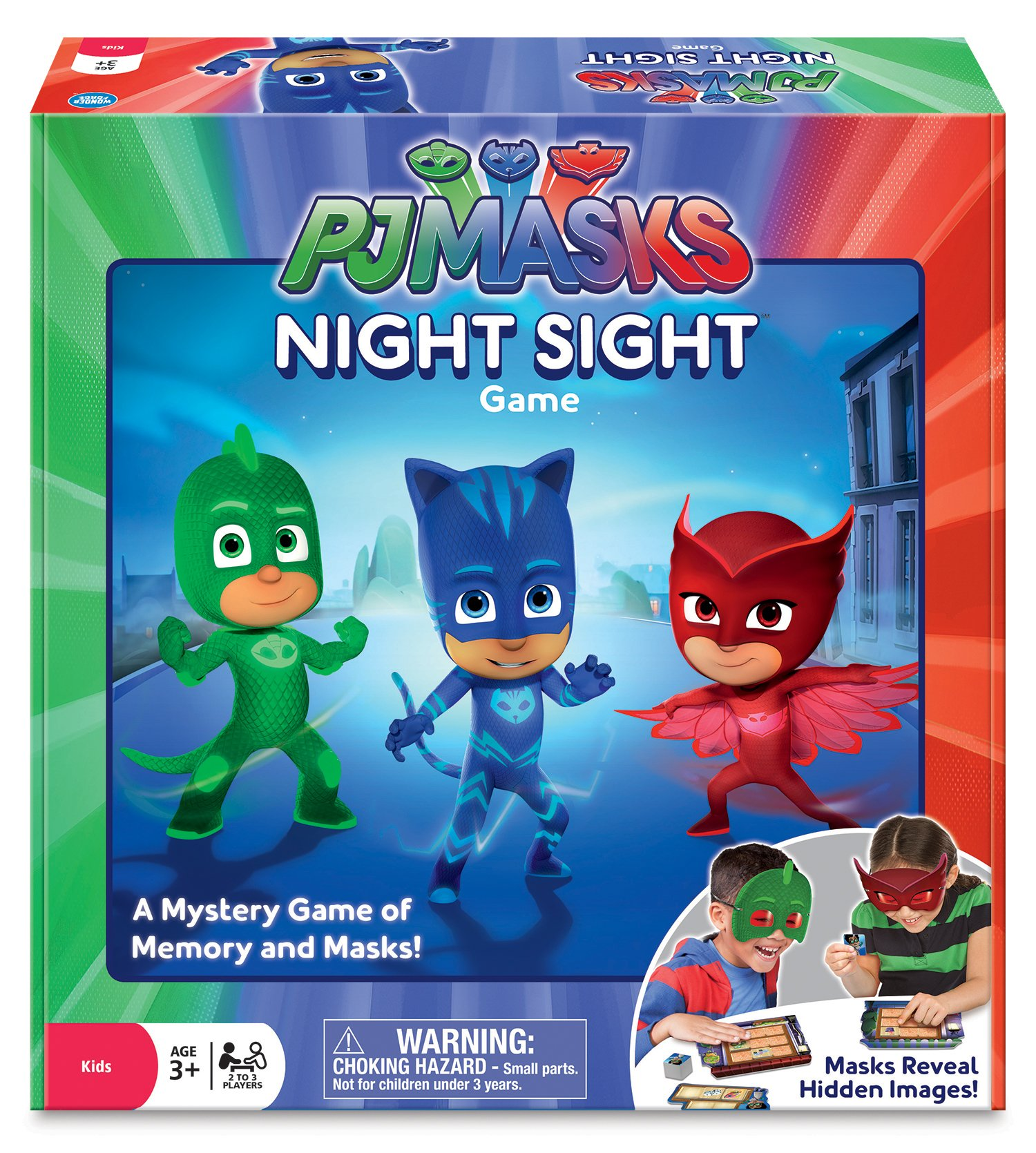 Wonder Forge The PJ Masks Night Sight Game