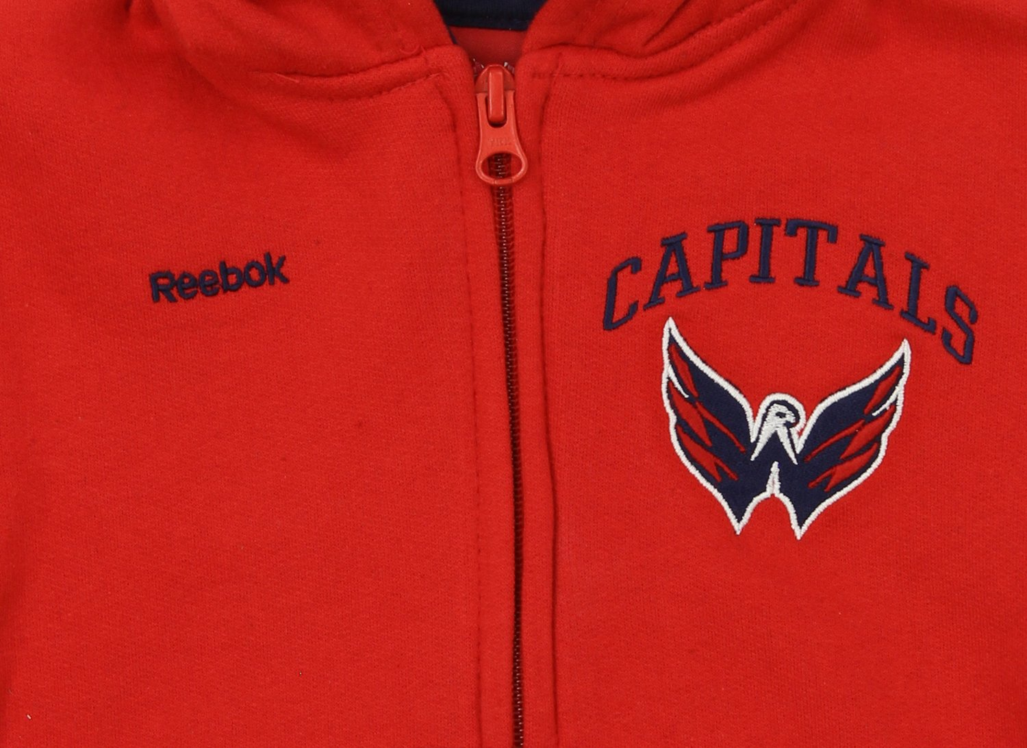 NHL Toddler s Washington Capitals Pledge Full Zip Hoodie 88fcaab0f