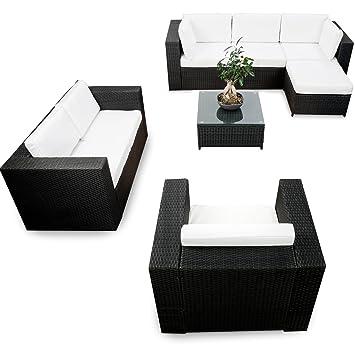 Amazon De Xinro Erweiterbares 23tlg Lounge Mobel Garten Ecksofa