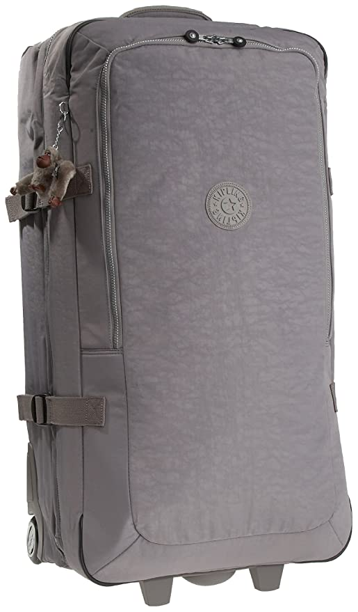 Kipling Womens Camoso Collapsible Medium Trolley Warm Stone