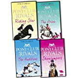 Stacy Gregg Pony Club Rivals 4 Books Collection (Showjumpers, The Prize, The Auditions, Riding Star)