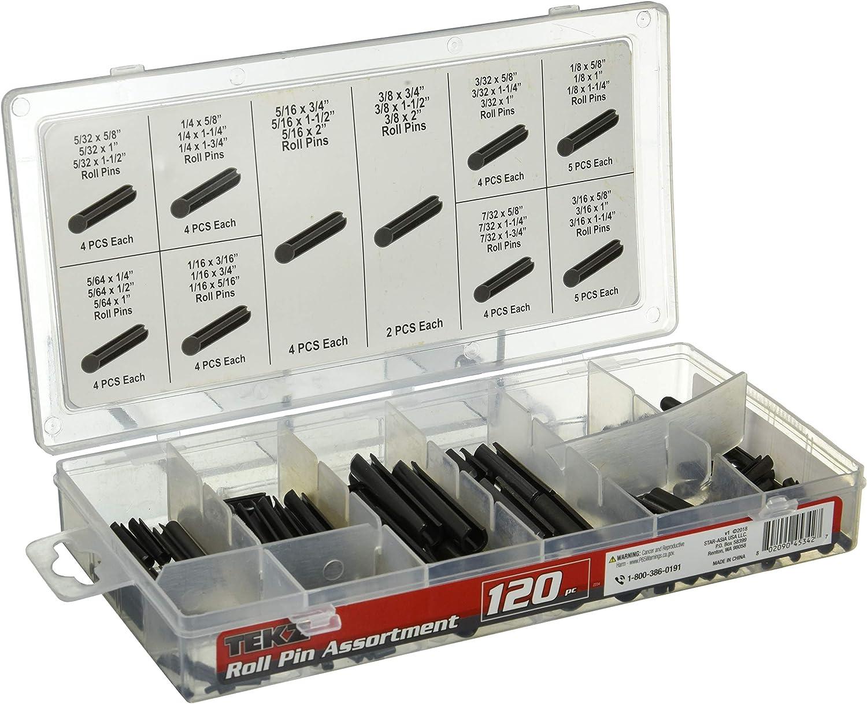 Titan 45342 120pc Roll Pin Assortment