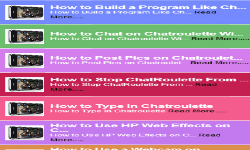 chatroulette mobile app for android