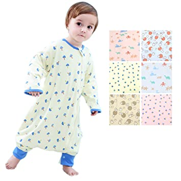 Amazon.com  GEX Baby Sleep Sack 100% Cotton Wearable Blanket Baby Sleeping  Bag Spring Autumn Winter (3mos-6.5year)  Baby 5d3f990bd
