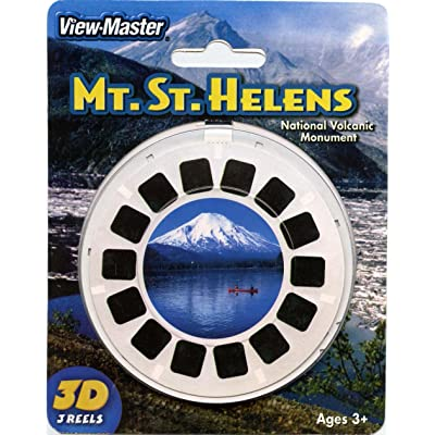 Mt St Helens National Volcanic Monument - Classic ViewMaster - 3 Reels on Card- NEW: Toys & Games