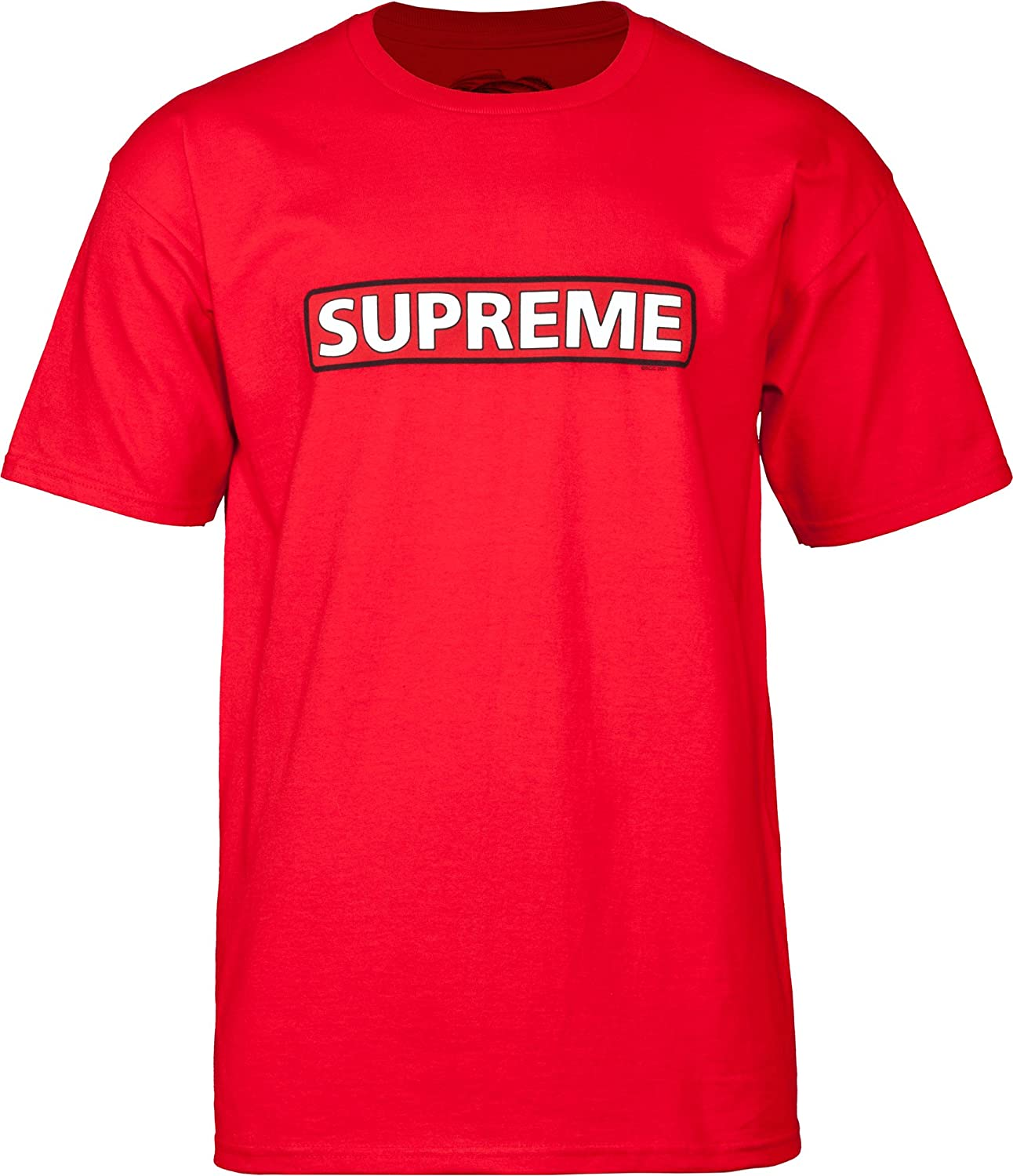 Amazon.com  Powell-Peralta Supreme Red T-Shirt  Sports   Outdoors a28622614