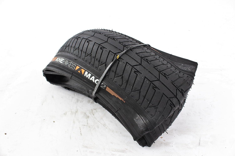 KHE BMX MAC2/Park Folding Bicycle Tyre 20/x 2.30 Inches/360g Black E6