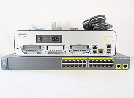 X 2 CISCO WS-C2960-24TC-L CCNA CCNP LAB SWITCH.