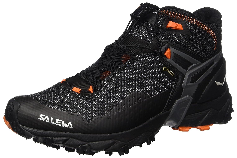 Salewa Ms Ultra Flex Mid GTX, Botas de Senderismo para Hombre 42.5 EU|Multicolor (Black/Holland)